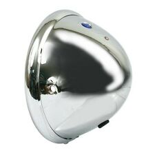"BATES 5-¾"" HEADLIGHT SHELL ONLY; SIDE MOUNT; INCLUDES TRIM RING"
