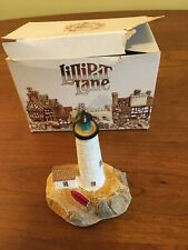 """Lilliput Lane """"Great Point Light"""", American Landmarks Collection, Ray Day, Deed"""