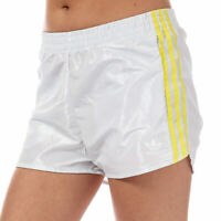 Womens adidas Originals Fashion League Shorts In Vintage White