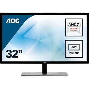 "AOC Q3279VWFD8 31.5"" IPS QHD Monitor"