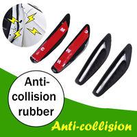 4x Black car door edge guard strip scratch protector anti-collision trim sticker