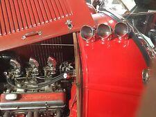 Vintage Air Scoop. Stromberg 97s. Flathead Ford. Frog.SCTA. Speed Equipment. (8)
