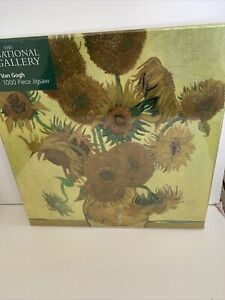 Adult Jigsaw Puzzle National Gallery: Vincent Van Gogh, Sunflowers BNEW