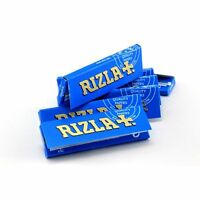 RIZLA Regular Genuine BLUE Cigarette Rolling Papers ORIGINAL Cheapest Booklets
