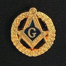 Masonic Vintage Style Lapel Pin with Wreath (MAS-3)