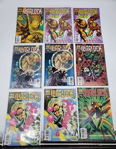 Lot of 15 Warlock Marvel Tech and Marvel Comics - Free Shipping!