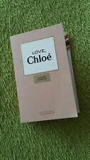 Love Chloe woman EDP 1.2 ml 0.04 oz perfume mini sample spray