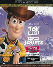 Toy Story - 4K ULTRA HD + BLU-RAY+ DIGITAL + SLIPCOVER - Brand New!