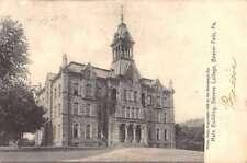 Beaver Falls Pennsylvania Geneva College Main Building Antique Postcard K88148