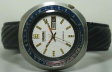Vintage Seiko Automatic Day Date Mens Wrist Watch s400 Old Used Antique