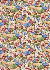 Quilting Purr-fection Sewing Supplies 1 Fat Quarter cotton fabric quilting quilt