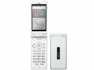 SHARP AQUOS KEITAI SH-06G DOCOMO Android Flip Phone Unlocked White used