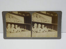 1905 Stereoview Athens Greece #20 Triple Bodied Monster Underwood & Underwood
