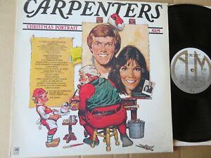 The CARPENTERS -  Christmas  Portrait - 1978 - Illustrations Robert Tanenbaum