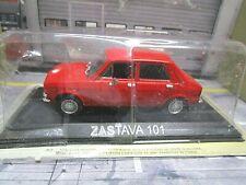 ZASTAVA 101 ( Fiat 128 )  rot red rot red 1967 - 1977 IXO Altaya Atlas Ago 1:43