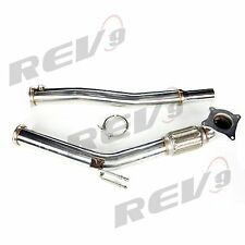 "REV9 3"" 06-13 AUDI A3 FWD 2.0T TSI FSI TURBO DOWN PIPE VW GOLF GTI JETTA V VI"