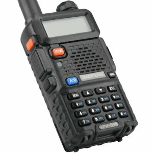 Baofeng UV5R Ham Transceiver Dual Band 70cm & 2M for Police Fire Hunt Interphone