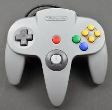 ✅ *TIGHT JOYSTICK* Nintendo 64 N64 Gray Video Game Controller Remote Pad OEM 🎮✅
