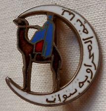Insigne Sahara COMPAGNIE SAHARIENNE DU TOUT ORIGINAL NUMEROTE 2 émail ancien