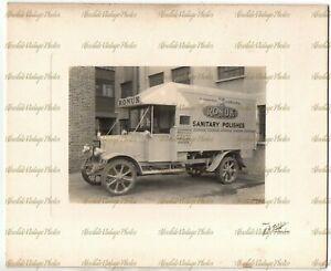 OLD MOTOR PHOTO RONUK LTD  VAN / LORRY PORTSLADE BRIGHTON SUSSEX H.W TUBB C.1920