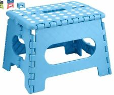 Plastic Small Multi Purpose Folding Home Foldable Easy Storage Step Stool