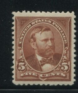 1894 US Stamp #255 5c Mint Never Hinged Very Fine Catalogue Value $325