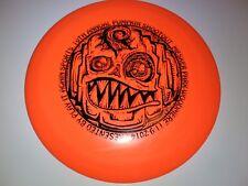 New listing New 2014 Innova DX Teebird Pumpkin Halloween Disc Golf 175g