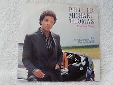 """Philip Michael Thomas """"Fish And Chips/I'm In Love With The Love That..."""" PS 45"""