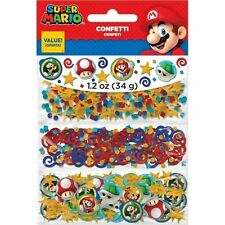 Super Mario Nintendo Table Confetti Luigi Toad  Birthday Party 361554