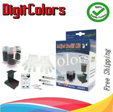 ink Cartridge Refill bottle box tool kit for HP 58 color PHK,LC,LM