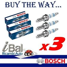 BOSCH 3 CANDELE D'ACCENSIONE SMART FORTWO 451 1.0 - 0242135527