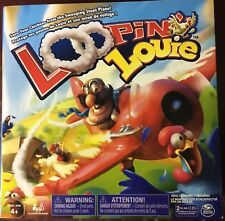 Loopin Board Games Louie - Interactive Family Kids Aged 4 Up Looping Louie Rare