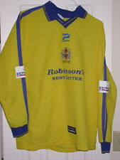 Stockport County Fc - Matthews Match Worn/Game Used Epl Soccer Jersey 2000-01