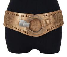 Cinturones de mujer de color principal oro