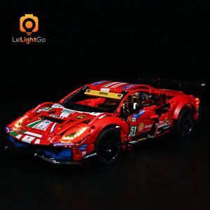 "Classic LED Light Kit For 42125 Ferrari 488 GTE ""AF Corse #51"" 42125 TECHNIC Kit"