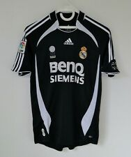 REAL MADRID 2006/2007 ADIDAS AWAY FOOTBALL SOCCER SHIRT JERSEY CAMISETA SPAIN