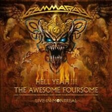 """GAMMA RAY """"Hell Yeah-The Awesome Foursome"""" 2 CD NEUF"""