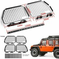 4X Folding Metal Window Mesh Net Guard for 1/10 Traxxas TRX-4 D90 D110 Defender