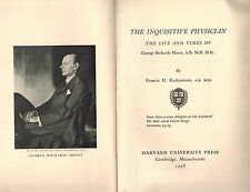 1956 Biography Dr George Minot, MGH Physician, Pernicious Anemia, Nobel Laureate