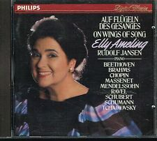 CD album: on wings of songs. Elly Ameling - Rudolf Jansen. philips. C4
