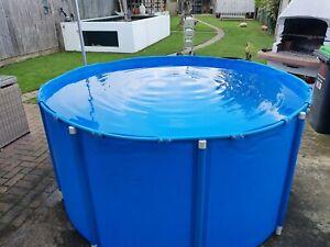 Koi Collapsible Holding/Quarantine Tank/Pond temporary