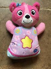 Pink VTech Baby Soothing Songs Bedtime Bear Sleepy time Slumber
