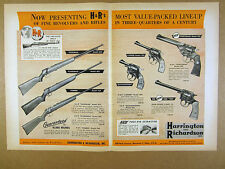 1953 H&R .22s Model 852 865 765 Rifles 922 999 Revolvers specs prices vintage Ad