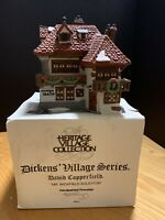 "Department 56: Dickens Heritage Village:""Mr. Wickfield Solicitor"" w/ Box!"
