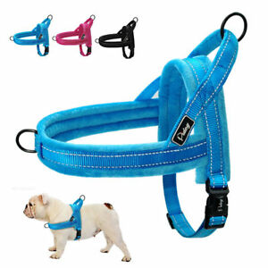 Reflective Non-pull Small Dog Harness for Chihuahua Beagle Pug French Bulldog