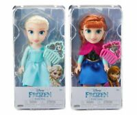 "Disney Princess ""ANNA & ELSA"" Frozen  Petite Dolls: 6 Inches"