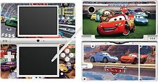 NDSi DSi - CARS - 4 Piece - Decal / Sticker vinyl Skin UK nintendo dsi