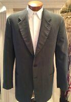 Exquisite Mani by Giorgio Armani  Mens Suit Light Green Sz. 38 40 L