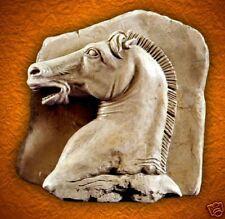 Parthenon Roman horse animale garden stone relief sculpture art home decor