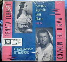 Tebaldi & Del Monaco;  Famous Operatic Love Duets     London